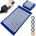 Acupuncture Mat Pillow Set Acupressure Mat Cushion Massage Pillow Pad for Full Body Massage Cushion