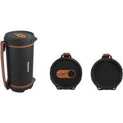 Sylvania Sp807-brown Hi-fi Bluetooth[r] Rugged Tube Speaker [brown]