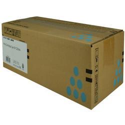 OEM Ricoh 407654 Toner Cartridge, CYAN, 6K YIELD - for use in Ricoh SP C252DN printer, SP C252SF printer, SP C262DNW printer, SP C262SFNW