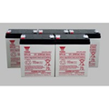 Replacement for 55388-BATTERY (5) 12 VOLT / 5.5AH UPS BATTERY replacement battery