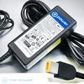 T-Power 20V 65W Ac Dc adapter for Lenovo ThinkPad X1 Carbon 3448 Series Lenovo Thinkpad X1 Carbon Win 8 3460 Series LAPTOP Ultrabook Replacement super thin Laptop charger power supply cord wall plug
