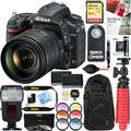 Nikon D750 24.3MP Digital SLR Camera with AF-S NIKKOR 24-120mm f/4G ED VR Lens + Dual Battery & 64GB Accessory Bundle