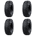 (4 Pack) Tusk Terrabite® Radial Tire 27x11-12 Medium/Hard Terrain - Fits: POLARIS RZR 900 TRAIL Fox Edition 2020