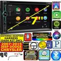 CHRYSLER 300 APPLE CARPLAY NAVIGATION (works with IPHONE) AM/FM USB/BLUETOOTH CAR RADIO STEREO PKG. INCLUDES VEHICLE INSTALLATION HARDWARE: DASH KIT, WIRE HARNESS, AND ANTENNA ADAPTER WHEN REQIRED.