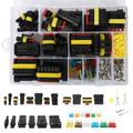 Willstar 240Pcs Car Connector Plug Terminal Auto Sealed Waterproof Electrical Wire Connector Plug Kit Car Accessories