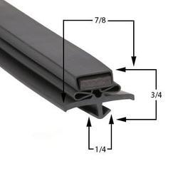 True Compatible TUC44 Door Gasket Part# (810816)