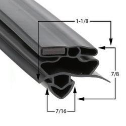 True Compatible T-49RL Door Gasket Part# (810719)