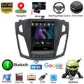 LNKOO Android 10.1 Auto Radio Multimedia Player GPS Navigation 9.7 Inch Touch Screen Stereo Sat Nav Support SWC Phone Car Head Unit for Ford Focus 2012-2017,1+16G