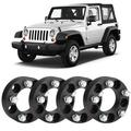 Akozon 4Pcs 1.5in Thick 5x4.5in Hub Centric Wheel Spacers for, Centric Wheel Spacers, Hub Centric Wheel Spacers