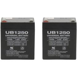Universal Power Group UB1250 SLA Battery 12 Volt 5 Amp Hours - 2 Pack, Model: sp12-5 By Brand Universal Power Group