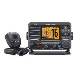 Icom M506 VHF Fixed Mount w/Front Mic, AIS & NMEA 0183/2000 M50621 AIS Front Mic VHF Marine Radio Transceiver