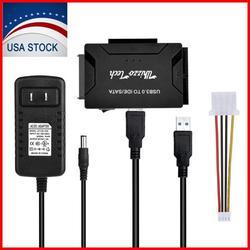 "USB 3.0 to IDE/SATA Converter Adapter Kit For 2.5""/3.5"" SATA/IDE/SSD Hard Drive"