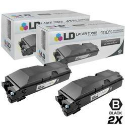 Compatible Replacements for Kyocera Mita TK-6307 Set of 2 Black Laser Toner Cartridges for use in Kyocera-Mita TASKalfa 3500i, 4500i, and 5500i s
