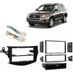 Fits Toyota RAV4 2006-2011 Multi DIN Stereo Harness Radio Install Dash Kit, Fits Toyota RAV4 2006-2011 Multi DIN Stereo Harness Radio Install Dash Kit By Harmony Audio