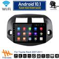 """""""For Toyota RAV4 2007-2011 Android 10.1 Car Stereo Radio WiFi GPS Navigation 10.1"""""""" 1GB+16GB Bluetooth FM, Rear View Touch Screen IOS/Android Phone Mirror Link 2007-08-09-10-11"""""""