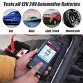 DUOYI Automobile Battery Life Detector Instrument For Measuring The Capacity And Internal Resistance Of Automobile Battery Digital High Accuracy 12.0V 24V Battery Detector Car Battery Tester Digit
