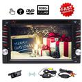 """""""Eincar New Developed 6.2"""""""" Android 6.0 Quad Core HD Capacitive Touch Screen Double 2 Din Car DVD Player Support Bluetooth 1080P Video Mirror Link GPS Navigation Reverse Camera OBD2 DVR"""""""
