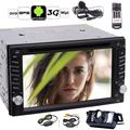 """""""EinCar Android 6.0 Quad Core Car Stereo Double Din Radio with Wireless Backup Camera Remote 6.2"""""""" In-Dash GPS Navigation 2 Din Car Touch Screen Bluetooth Radio DVD CD Player + External Microphpone"""""""