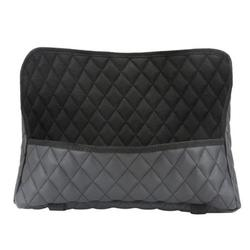 PWFE 1-2Pcs Car Pocket Handbag Holder PU Leather Organizer Seat Back Net Bag Driver Storage Leather Pouch(Black-1Pc)