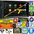 GMC SIERRA SAVANA GPS APPLE CARPLAY NAVIGATION (works with IPHONE) AM/FM USB/BLUETOOTH CAR RADIO STEREO PKG. INCL. VEHICLE HARDWARE: DASH KIT, WIRE HARNESS, AND ANTENNA ADAPTER WHEN REQIRED.