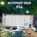 LED Flood Light 50W RGB LED Floodlight AC 220V Remote Control Street Lamp Waterproof IP66 Outdoor Lighting LED COB Spotlight