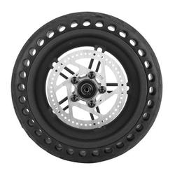 Honeycomb Solid Tire Electric Scooter Explosion-Proof Shock Resistant Rubber Tyre Non-inflated Replace Tire for Xiaomi M365