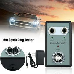 Romacci Car Spark Plug Tester Detector with Two Holes Ignition Plug Analyzer Diagnostic Tool