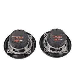 Mgaxyff 4 inch Car Speaker, Car Audio Loudspeaker,LH-402 1 Pair Coaxial Car Audio Speaker 300W 4 inch Car Door Coaxial Audio Speaker with Light