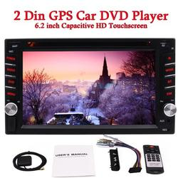 Android 6.0 system Quad-core CPU 1GB RAM+16GB ROM In Dash Double 2Din 6.2 inch Capacitive HD Touchscreen Car DVD Stereo GPS Navigation Radio headunit Bluetooth Support Steering Wheel Control
