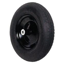 Truper Herramientas 880133939 33193 16 in. Block Tire with Rimball Barrings & Axel Wheelbarrow