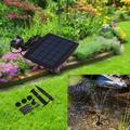 Outdoor Solar Water Jet Pump, Solar Landscape Oxygen Pump, Rockery Dc Water Pump, Water Pump