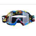 Motorcycle Glasses Riding Goggles, Antifog Anticrash Motocross Glasses for Atv Off Road Racing Motorbike Ski Snowboard Goggles