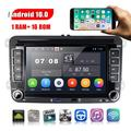 """""""Car Player Autoradio 7"""""""" VW Android 10 Touch Screen Car Radio Multimedia Player GPS Navigation Bluetooth TWO USB PORT FM, with 8 IR Camera"""""""