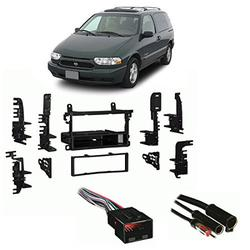 Fits Nissan Quest 1999-2003 Single DIN Stereo Harness Radio Install Dash Kit, Fits Nissan Quest 1999-2003 Single DIN Stereo Harness Radio Install Dash.., By Harmony Audio