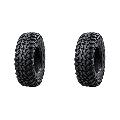 (2 Pack) Tusk Terrabite® Radial Tire 27x11-12 Medium/Hard Terrain - Fits: ARCTIC CAT WILDCAT TRAIL 700 2014-2017,2020