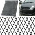 39x13inch Black Aluminum Racing Grille Mesh Vent Car Tuning Grill Universal Billet Grille Net Mesh Grill Inserts