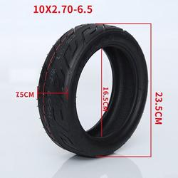 1pcs Safe Rubber Vacuum Tire Explosion Proof Tire For Electric Scooter Black