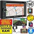 2013 & UP RAM DVD/CD/USB TOUCHSCREEN BLUETOOTH DOUBLE DIN CAR STEREO RADIO