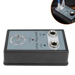 OTVIAP Auto Adjustable Sparking Plug Tester Dual Hole Ignition Engine Fault Code Reader,Ignition Coil Analyze,Sparking Plug Diagnostic Tool