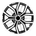 Pilot Automotive WH142-17S-B 17 Inch Universal Hubcap Wheel Covers for Cars Fits Toyota, Volkswagen, Chevy, Chevrolet, Honda, Mazda, Dodge, Ford and Others, Super Sport Black and Silver, Set of 4