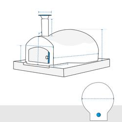 Outdoor Pizza Oven Covers - Design 6