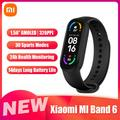 Xiaomi MI Band 6 Smartwatch 1.56'' AMOLED BT5.0 Fitness Tracker APP/Sleep/Heart Rate/Blood Pressure Monitor Message/Call/Sedentary Reminder Compatible With Android iOS Phones
