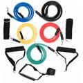 11PCS Resistance Band Set for Exercise Yoga Fitness Training Tubes,Sports Outdoor Resistance Loop Bands Workout Bands Portable Home Gym Accessories Resistance Tube