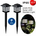 Enkeeo 2Pack Solar Power Garden Lights,Outdoor Landscape Lighting for for Garden/Pathway/Lawn/Patio/Yard/Walkway/Driveway, Warm White