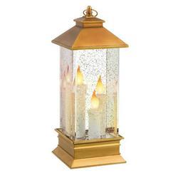 Grasslands Road Gold Light Up Glitter Lantern