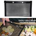Non-Stick Mesh Grilling Bag Mats Non-Stick BBQ Bake Bag Outdoor Picnic Baking Barbecue Cooking Tool