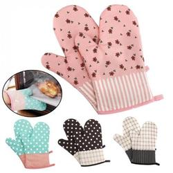 1 Pair Baking Grilling Oven Gloves Washable Protective Heat Resistant BBQ Gloves Cooking BBQ Mitts Heat Resistant Pot Holders Potholders BBQ Gloves Oven, Grilling, Baking, Smoking & Cooking Gloves