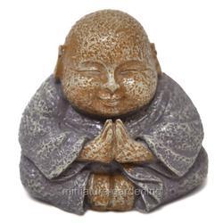 Miniature Smiling Buddha for Miniature Garden, Fairy Garden