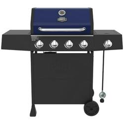 Expert Grill 4 Burner with Side Burner Propane Gas Grill in Blue