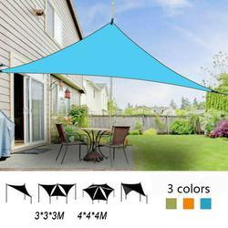 SPORTULI Triangle Canopy Sun Shade Sail Water Resistant UV Block Patio Awning Garden Tent